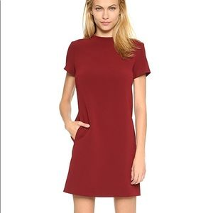 Theory Admiral Jasneah Dress Cherrywood size 2
